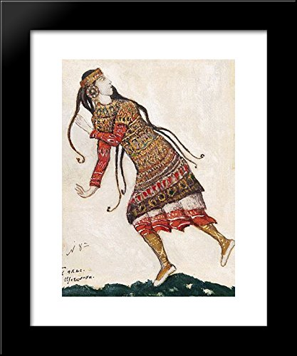 Sketch of costumes for The Rite of Spring 20x24 Framed Art Print by Nicholas (Nicholas Roerich Rite Of Spring Costumes)