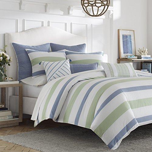 Nautica Norwich Comforter Set, Full/Queen, Medium (Nautica Standard Comforter)