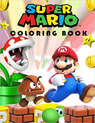 Super Mario Coloring Book: Color By Numbers, Mazes, Coloring Pages And  More.: Parerik Book: 9781979464963: Amazon.com: Books