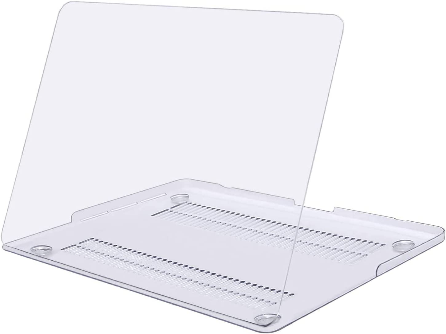 MOSISO Case Only Compatible with Older Version MacBook Pro Retina 15 inch (Model: A1398) (Release 2015 - end 2012), Plastic Hard Shell Case Cover, Crystal Clear