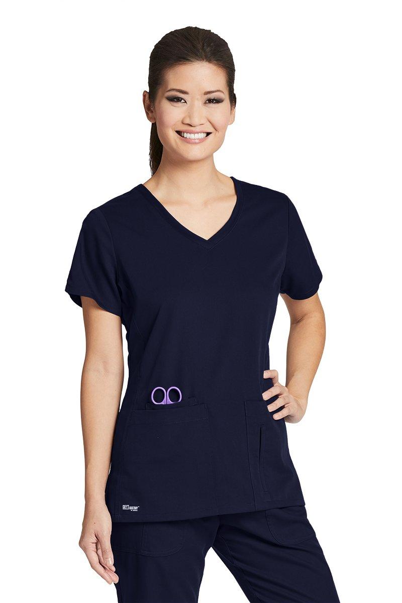 Grey's Anatomy SHIRT レディース B079ZN6QG5 Medium|ネイビー(True Navy) ネイビー(True Navy) Medium
