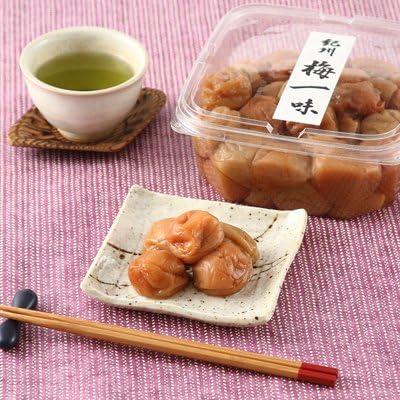 柔らかな果実が絶品! 梅干しの最高ブランド「南高梅」 梅一味(1kg)