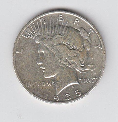 (1935 S Peace Silver Dollar Coin $1 Fine)