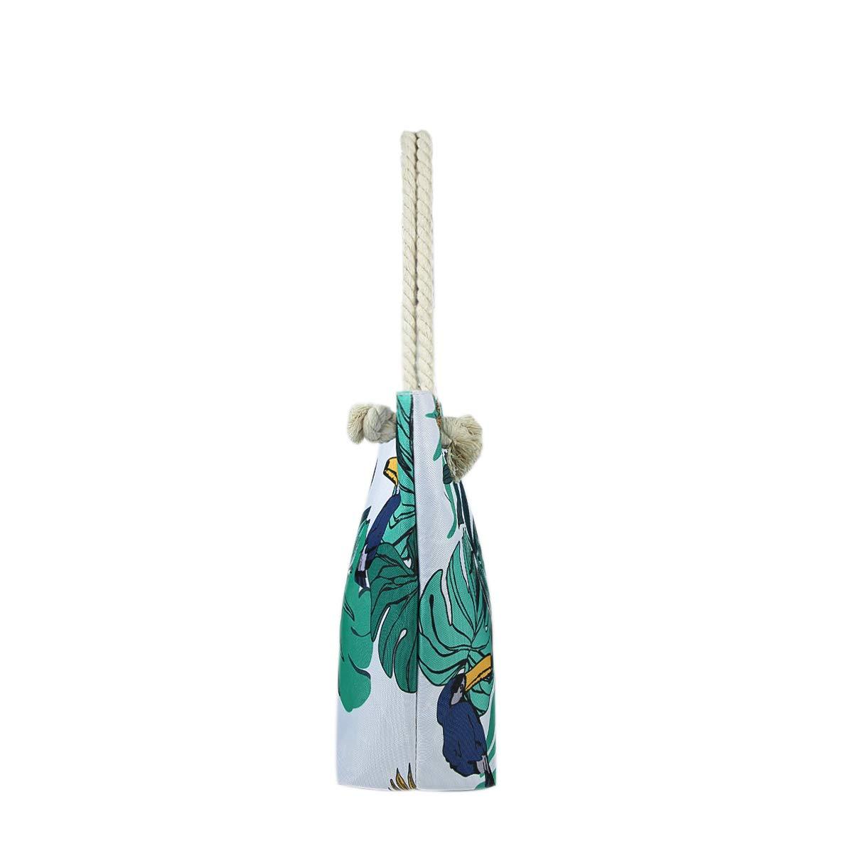 23 Large Tote Beach Shoulder Handbag for Women Extra Large Waterproof Canvas Tote Bag for Ladies Jingmu Beach Bag for Women