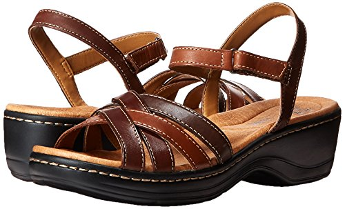 Brown Dress Pier Clarks Multi Sandal Hayla wvwAqIOZg