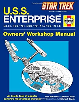 u s s enterprise haynes manual star trek ben robinson marcus rh amazon com trek 820 repair manual benelli trek 1130 repair manual