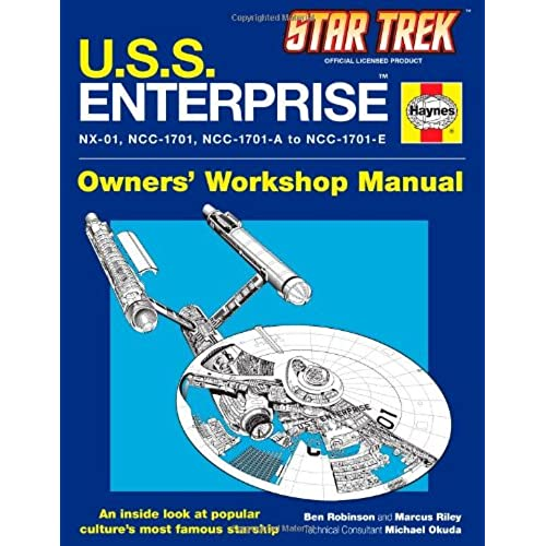 u s s enterprise haynes manual star trek ben robinson marcus rh amazon com benelli trek 1130 repair manual trek parts manual