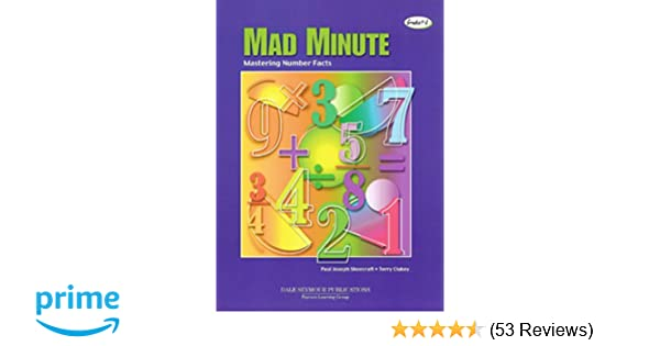 Amazon mad minute mastering number facts grades1 8 amazon mad minute mastering number facts grades1 8 9780201071405 paul joseph shoecraft terry james clukey books fandeluxe Image collections