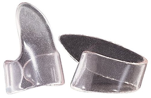 UPC 710137005891, Dunlop 9035R Clear Plastic Thumbpicks, Medium, 12/Bag
