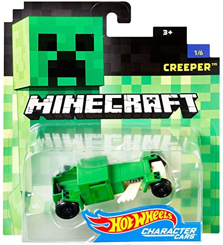 Hot Wheels Arcade Games (Hot Wheels Minecraft Creeper Vehicle)
