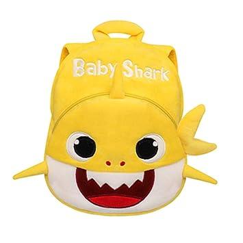 Baby Shark Backpack Plush Cute Cartoon Animal Bag For Children Kids School Gift