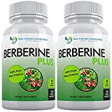 Berberine Plus 1200mg Per Serving - 120 Veggie Capsules Royal Jelly, Supports Glucose Metabolism, Healthy Immune System, Promotes Weight Loss, Improves Cardiovascular Heart (Pack of 2)