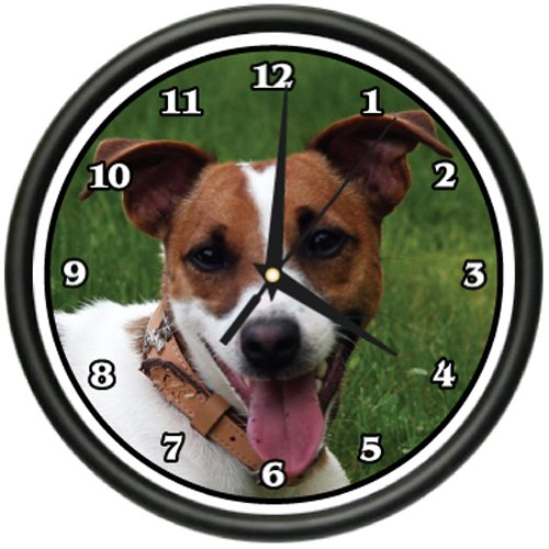 JACK RUSSELL TERRIER Wall Clock dog doggie pet breed gift