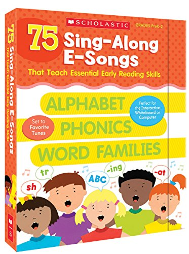 75 Sing-Along E-Songs That Teach Essential Early Reading Skills (Cd Long Vowels)