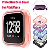#5: Alonea Fitbit Versa Watch Case, Soft TPU Protection Silicone Full Case Cover For Fitbit Versa To Prevent Scratches, Bumps, Grease and Finger Prints