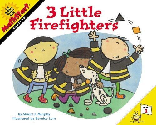 Download Three Little Firefighters (Turtleback School & Library Binding Edition) (Mathstart: Level 1 (Prebound)) pdf