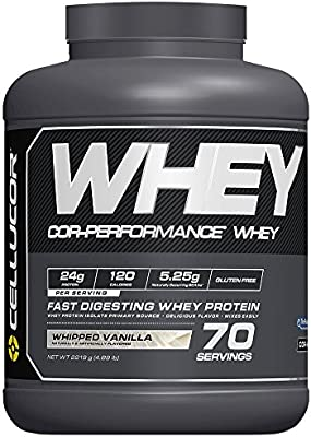Cellucor Whey Protein Isolate & Concentrate Blend Powder with BCAAs, Post Workout Recovery Drink, Gluten Free Low Carb Low Fat, Vanilla, 70 Servings - 10160766 , B073FN2HXW , 285_B073FN2HXW , 2065776 , Cellucor-Whey-Protein-Isolate-Concentrate-Blend-Powder-with-BCAAs-Post-Workout-Recovery-Drink-Gluten-Free-Low-Carb-Low-Fat-Vanilla-70-Servings-285_B073FN2HXW , fado.vn , Cellucor Whey Protein Isolate