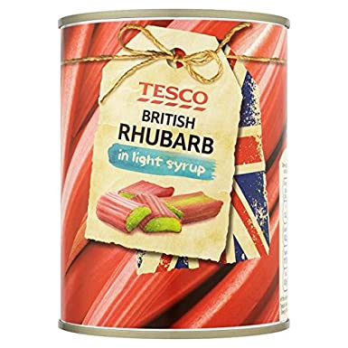 Tesco British Rhubarb Light Syrup 539g Amazoncouk Grocery