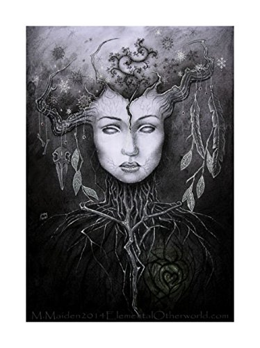 amazon com persephone in the underworld a4 print ancient winter
