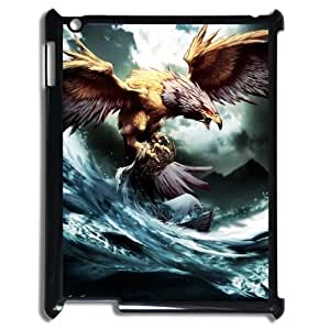 K-G-X Phone case For Ipad 2/3/4 Case Case-Pattern-19 Flying Eagles Protective Back Case