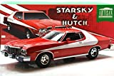 GREENLIGHT 1: 18SCALE ARTISAN STARSKY & HUTCH 1976 FORD GRAN TORINO Green Light 1:18 scale Artisan