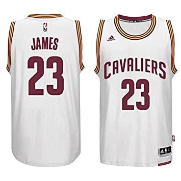 the latest 11a4b d4b6f Lebron James Cleveland Cavaliers Adidas NBA Swingman Jersey ...