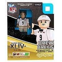 Drew Brees NFL OYO New Orleans Saints S.B. XLIV L.E. of 2015 Generation 3 Super Bowl 50 Series G3 Mini Figure