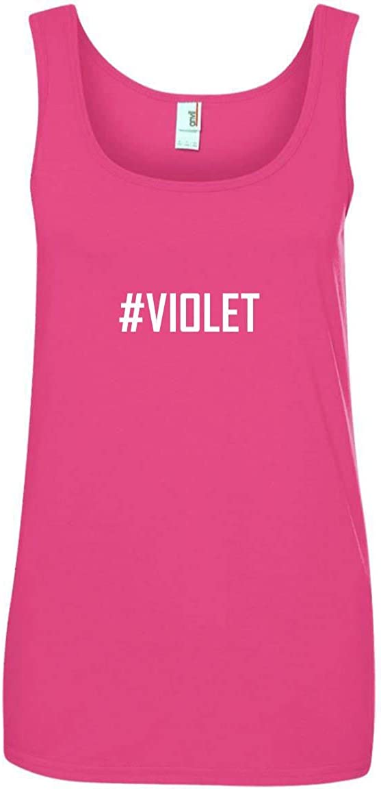 #Violet A Soft /& Comfortable Womens Ringspun Cotton Tank Top