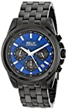 Relic Men's Quartz Stainless Steel Casual Watch, Color:Black (Model: ZR66035)