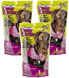 (3 Pack) Fido Belly Dog Bone, Digestion Aid w/ Prebiotic and Probiotic Enzymes, Large, 4 Treats each Review