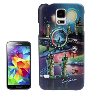 London Pattern Plastic Case for Samsung Galaxy S5 / i9600