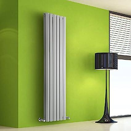 Hudson Reed DRWVP22 - Radiador de Diseño Vertical Doble Para Calefacción Central de Agua - 1600