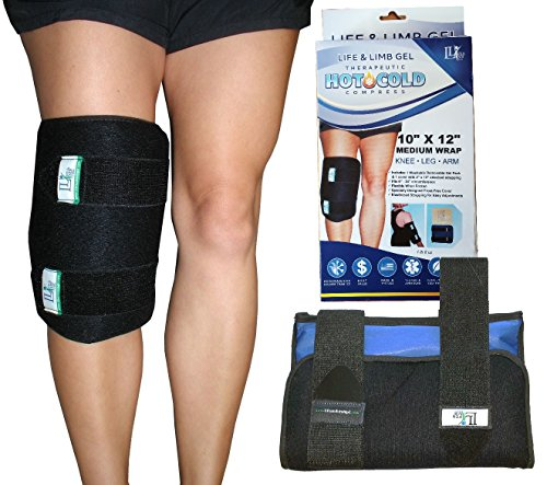Leg Heat Ice Wrap - 5