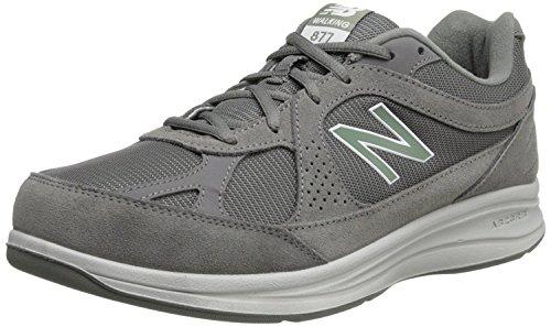 New Balance Mens MW877 Walking Shoe, Grey, 45.5 EU/11 UK