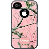 Otterbox Defender Realtree Series for iPhone 4/4S Protective Case with Screen Protector - Pink/APC Camo Pattern