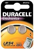 Duracell - Pile spéciale appareils électroniques - LR54 Petit Blister x2 (equivalent 189, V10GA, KA54, RW89, LR1130)