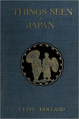 Book Things Seen In Japan