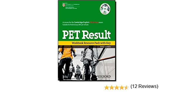 PET Result: Preliminary English Test Result: Printed Workbook Resource Pack With Key Preliminary English Test Pet Result - 9780194817202: Amazon.es: Quintana, Jenny: Libros