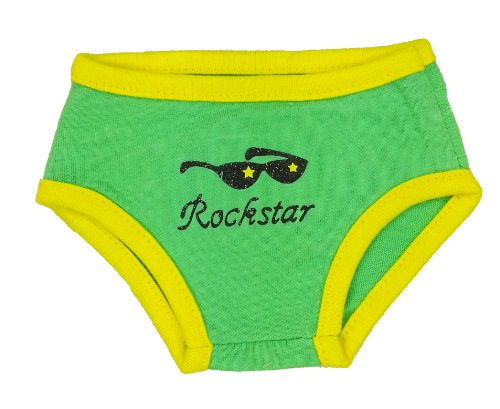 Rock Star Undies Teddy Bear Clothes Outfit Fits Most 14