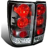 Spec-D Tuning LT-TIT04JM-TM Nissan Titan Black Altezza Tail Lights Lamps