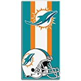 """The Northwest Company Officially Licensed NFL Miami Dolphins Zone Read Beach Towel, 30"""" x 60"""""""