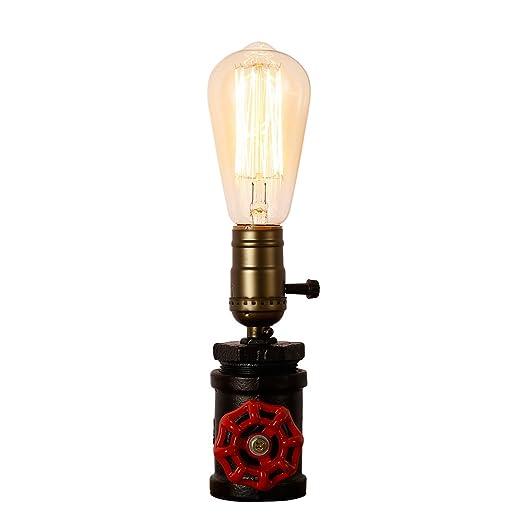 Injuicy Loft Retro Vintage Industriel Socle En Metal Lampes De Table
