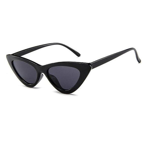 Fulision Cat Eye Sunglasses Vintage Mod Style Retro Kurt ...