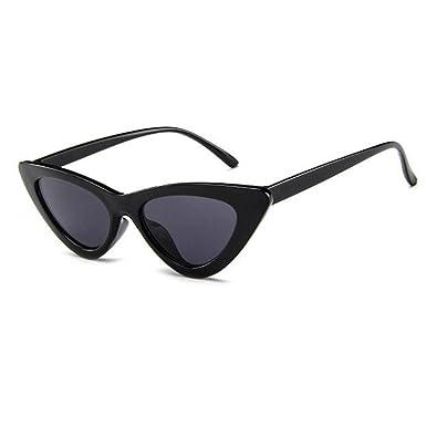 Huicai Lunettes de soleil Cat Eye Vintage Mod Style Retro Kurt Cobain  Lunettes de soleil  Amazon.fr  Vêtements et accessoires 4d29162de926