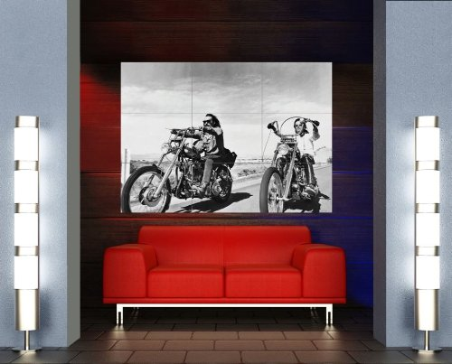 Easy Rider Motorcycle - EASY RIDER CHOPPER MOTORCYCLE GIANT POSTER X694