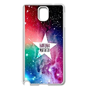 Best Quality [LILYALEX PHONE CASE] Hakuna Matata With Good Luck For Samsung Galaxy NOTE4 CASE-18