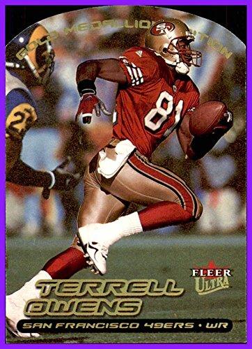 2000 Fleer/Skybox Ultra Gold Medallion #173 Terrell Owens SAN FRANCISCO 49ers