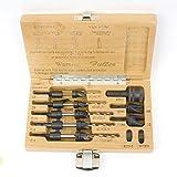 W. L. Fuller 10393011C  #11 5-Piece Taper Drill Set