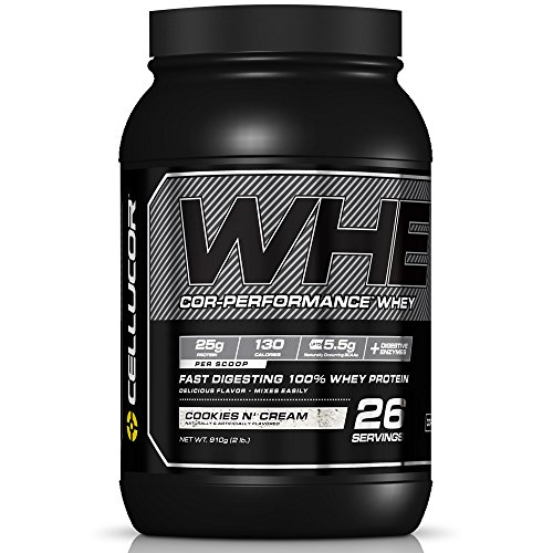 Price comparison product image Cellucor Cor-Performance 100% Whey Protein Powder with Whey Isolate,  Cookies N' Cream / G4