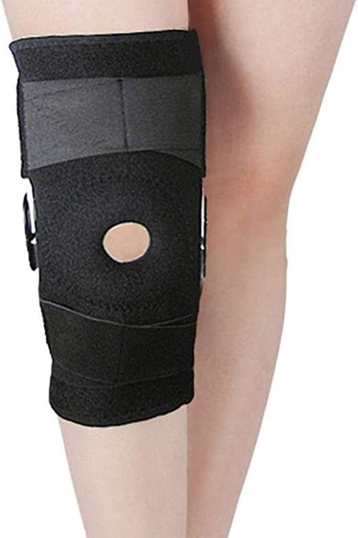 High Qulity Fully Adjustable Hinged Knee Belt Support Brace Neoprene Straps